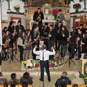 Concerto di Natale ACM Saxophone Ensemble 22-12-2013