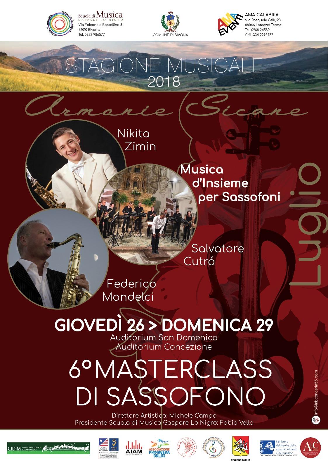 11 Masterclass Sassofono