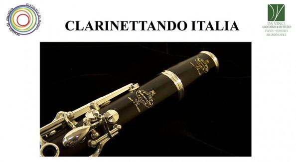 Copertina Masterclass Clarinettando Italia