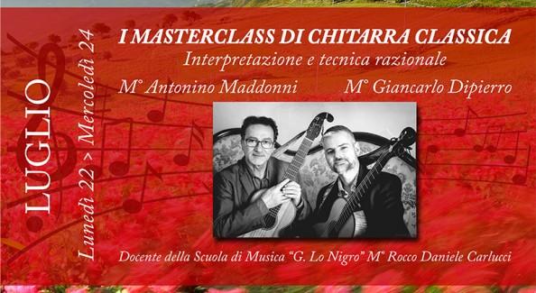 Masterclass Chitarra - 800x450