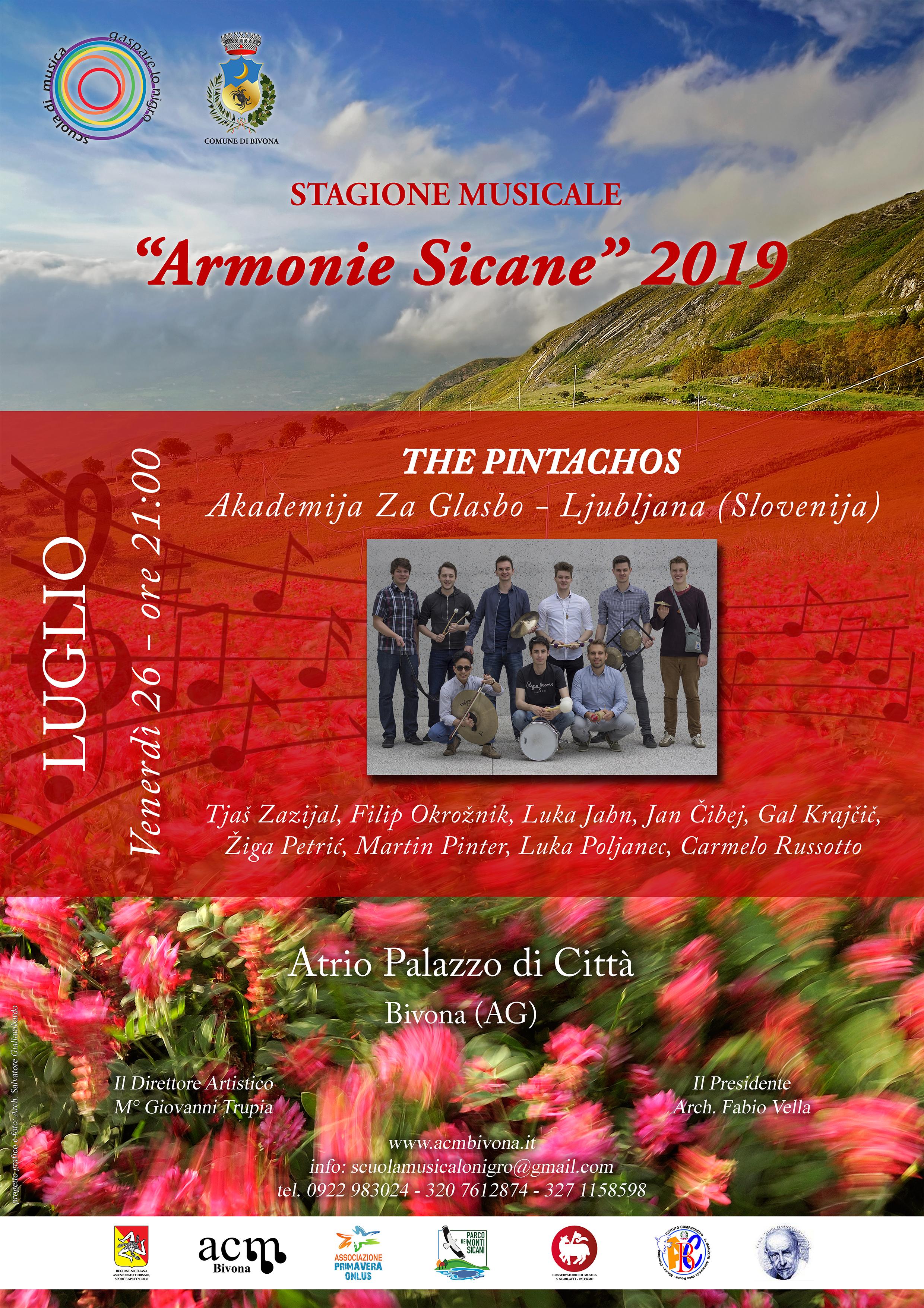 The Pintachos - Locandina A4
