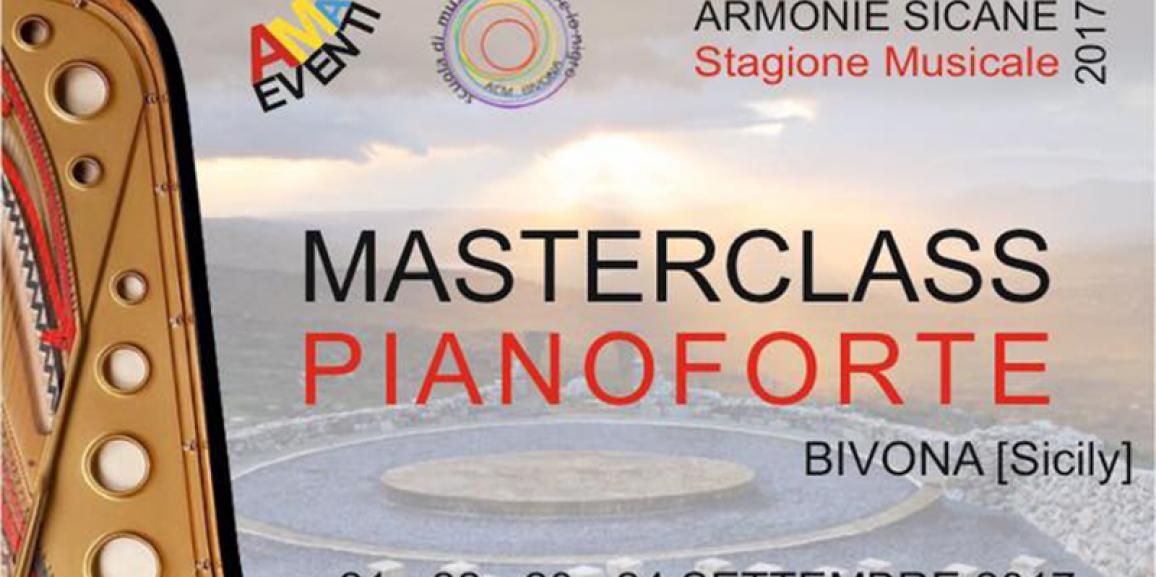 II Masterclass di Pianoforte 2017