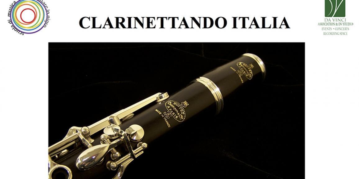 Masterclass Clarinettando Italia 27 e 28 Ottobre 2018