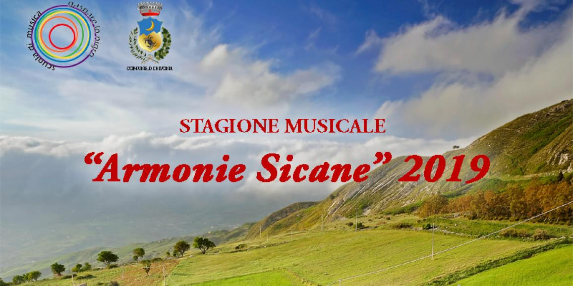Stagione Musicale ARMONIE SICANE 2019