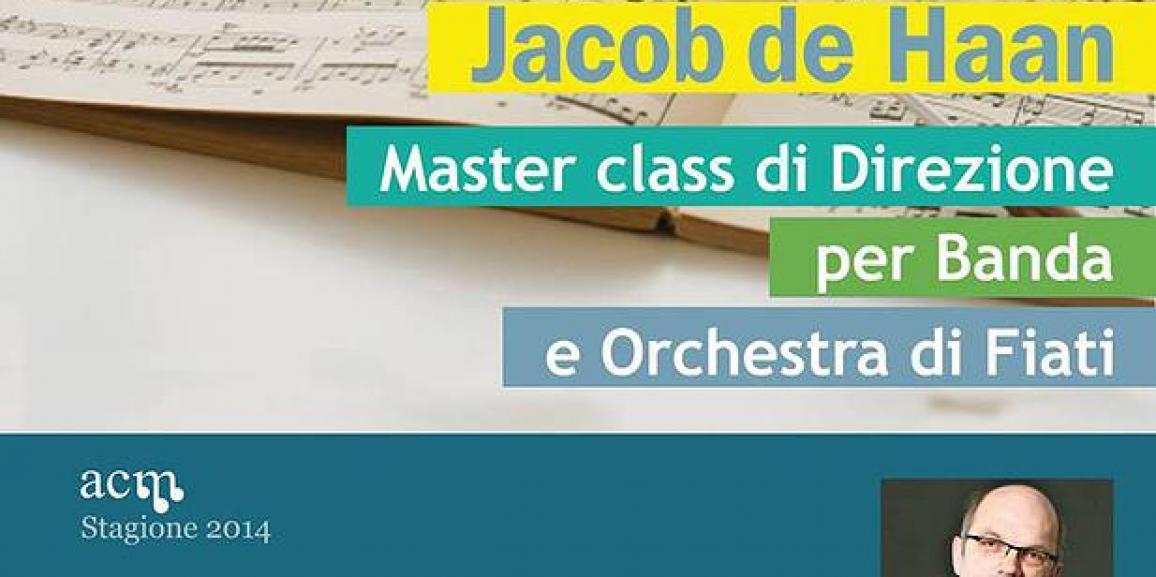 Master class di Direzione con Jacob de Haan