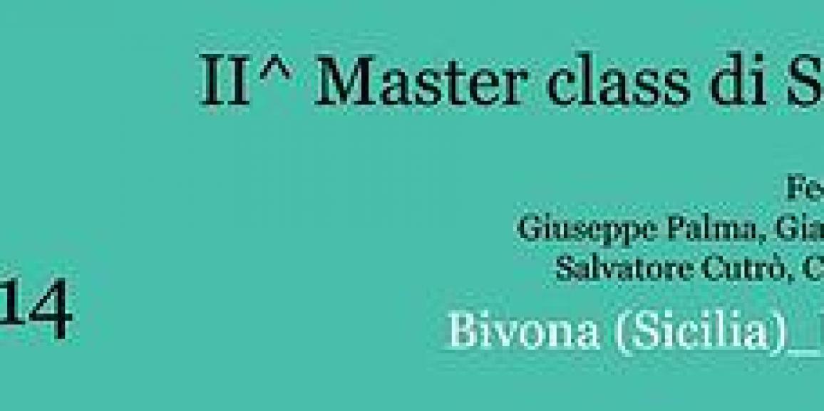 II^ Master class di Saxofono