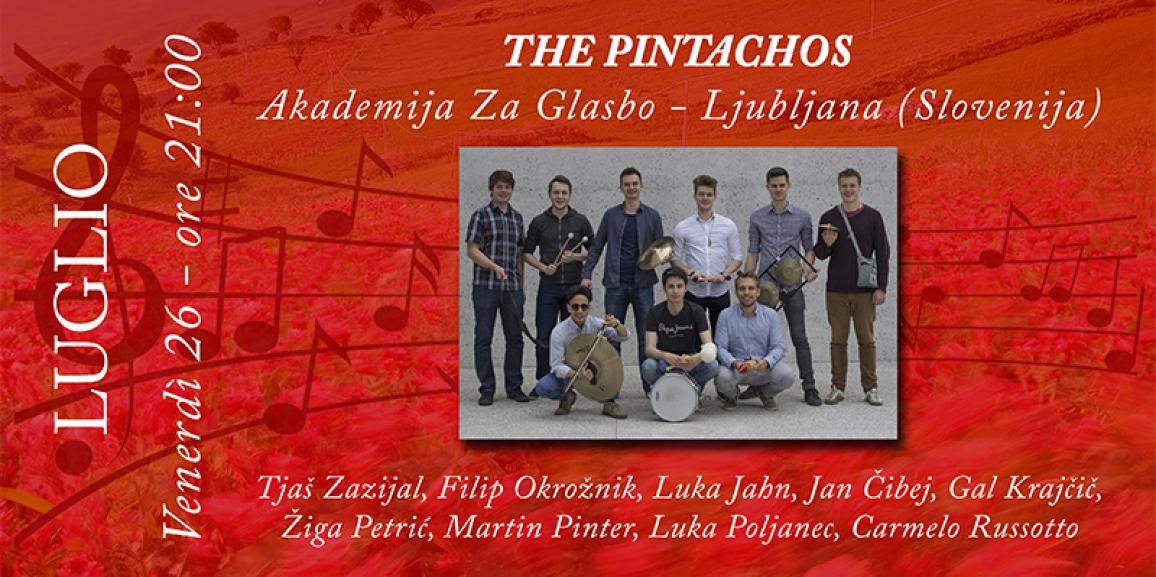 The Pintachos – Atrio Palazzo di Città 26/07/2019