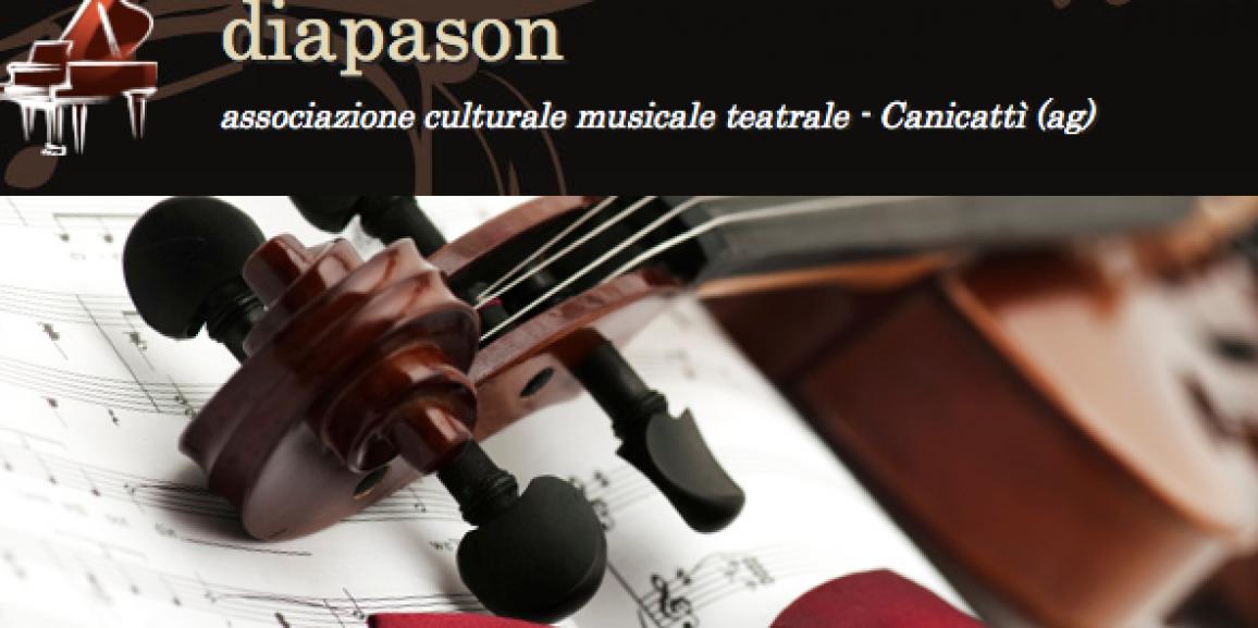 """Concorso Internazionale di Musica """"Diapason"""" Canicattì"""