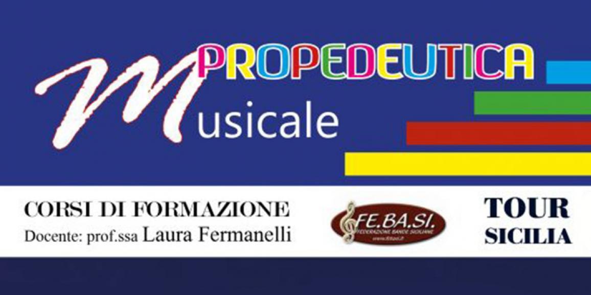 Corso di Propedeutica Musicale 08-09/aprile/2017