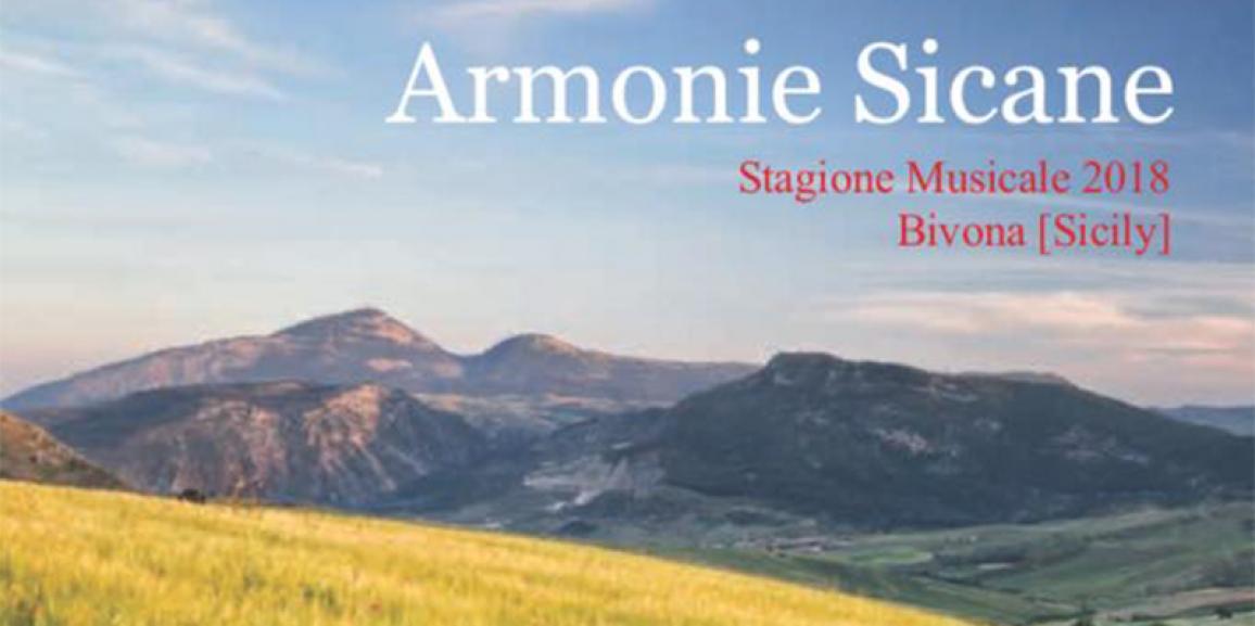II^ Stagione Musicale ARMONIE SICANE 2018
