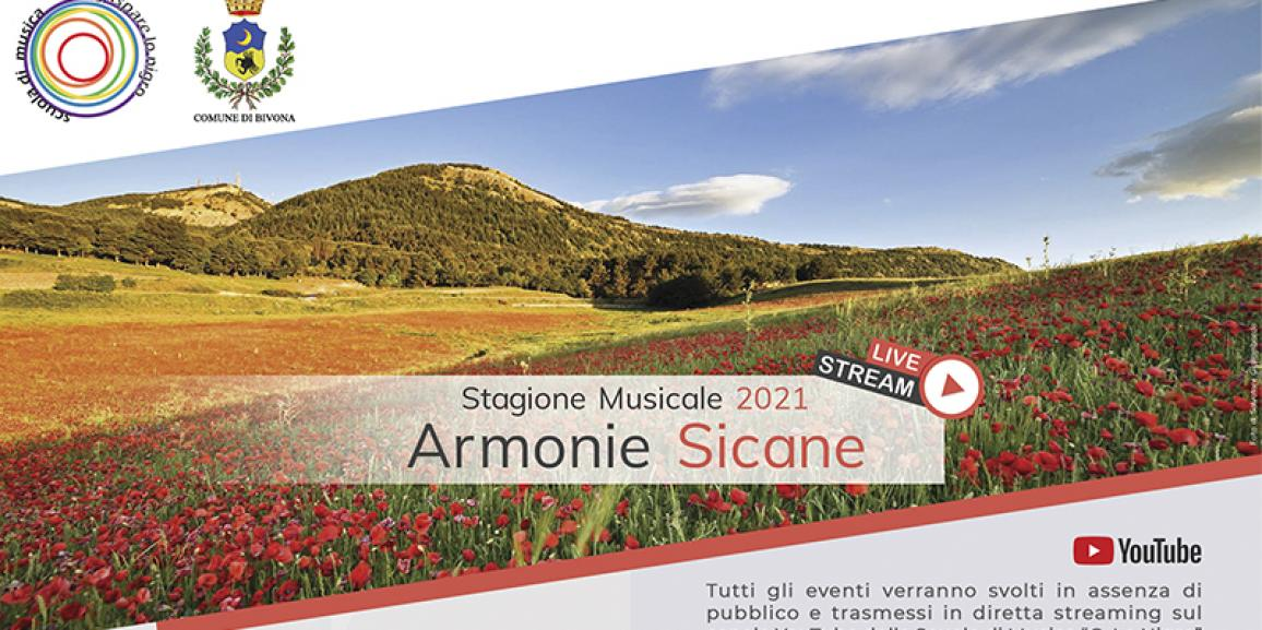 Stagione Musicale Armonie Sicane 2021
